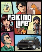 Grand Faking Life by taneel
