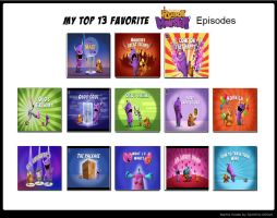 My Top 13 Favorite Robot and Monster Episodes by Toongirl18