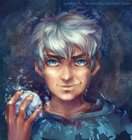 Rise of the Guardians: Jack Frost by sparrow-chan