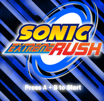 Sonic Extreme Rush StartScreen by spdy4