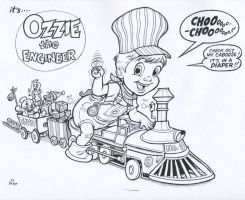 Ozzie the Engineer by BoJay by OzzieAstaroth