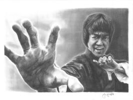 Bruce Lee by juelshaness