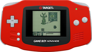 Nintendo Game Boy Advance [TARGET] Red by BLUEamnesiac