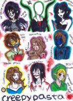 THANKS FOR THE 255 WATCHERS!CREEPYPASTA TIME!!!!!! by NENEBUBBLEELOVER
