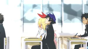 Nisekoi - At school [GIF] by Lightning441