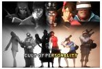 [SFM] TF2 - Cult of Personality - Movie Poster by LoneWolfHBS