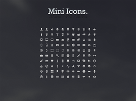 110 Mini Icons by noearaujo