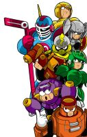 Rokko Chan Robot Masters by Thormeister