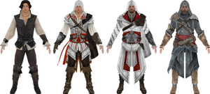 Ezio Evolution by kiraetius