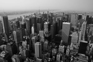 Looking down on New York Vers2 by lowjacker