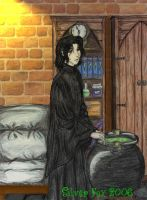 HP - Severus by srebrnylis