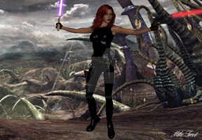 Mara Jade Skywalker on Felusia by mtrout65