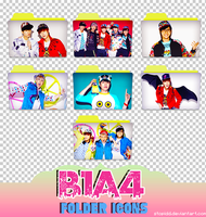 b1a4 folder icons (REQUEST) by stopidd