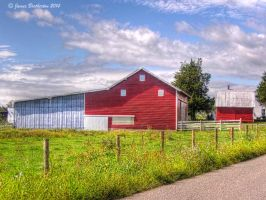 Roadside Barn by jim88bro