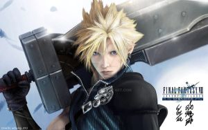 Cloud - Final Fantasy 7 by ppleong