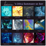 2014 Art Overview by Finchwing