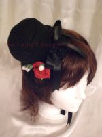 Red rose loli hat by Wilya12