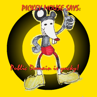 pICKEY MOUSE yucky by Batzarro