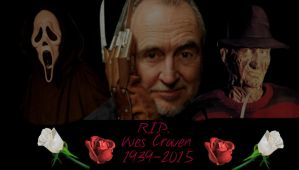 R.I.P. Wes Craven by FnafFan2000