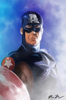 Captain America by XxTokenxX