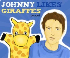 Johnny likes Giraffes by virunee