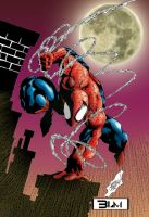 Spiderman Colored by BradMatthews