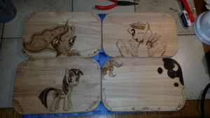 New Wood art in a new Style by XTorbenX