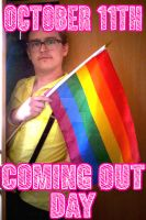 Coming Out Day by engineerJR