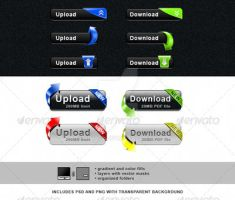 Upload and Download Button Set by simas2