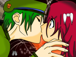 Flippy_x_Flakey_kiss by aniiop
