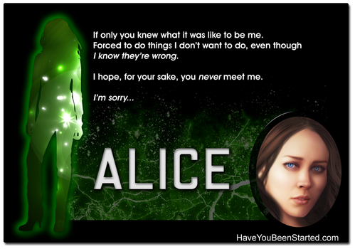 Meet Alice... by Graphix-Goddess
