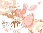 Macaron+Cappuccino by Remitake
