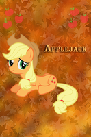 Applejack Iphone BG by TecknoJock