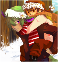early xmas lol by xMits