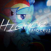 Taio Cruz / Travie McCoy - Higher (Rainbow Dash) by AdrianImpalaMata