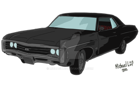 1967 Chevrolet Impala by michaellof