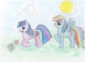 TwiDash Dashy loves reading by delapsus1992