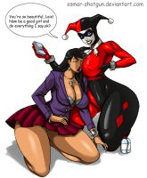 Commission: Harley and Lois by Osmar-Shotgun