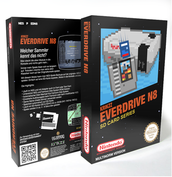 WIP Everdrive N8 Game Box by NeoRame