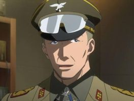 Erwin Rommel from Strike Witches OVA by panzerfaustblower