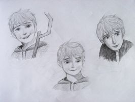 Jack Frost Sketchdump by TheFixerUpper