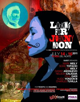 Looking for Johnny Moon Poster 2011 by creativemediaph