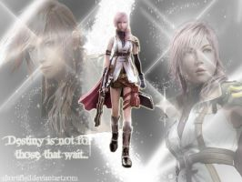 FFXIII: Lightning wallpaper by Shortified