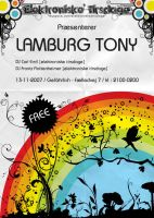 Flyer for Lamburg Tony by loonyworld