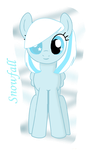 Snowdrops daughter Snowfall by Invader-Zil