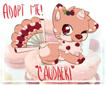 Pastry Caudaeri Adoptable [Auction - Open] by GeXeHeNNa