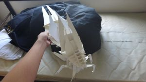 Reaper Paper Model by janyhero