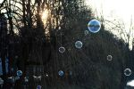 Bubbles in the Sunset by Yuna-chi
