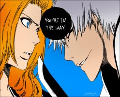Bleach Chapter 412 Gin Rangiku by GueBehind