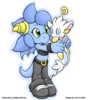 Art trade - Silber and Ray?? by S-A-F-R